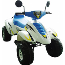 Электромобиль Beach Racer CT-558, белый