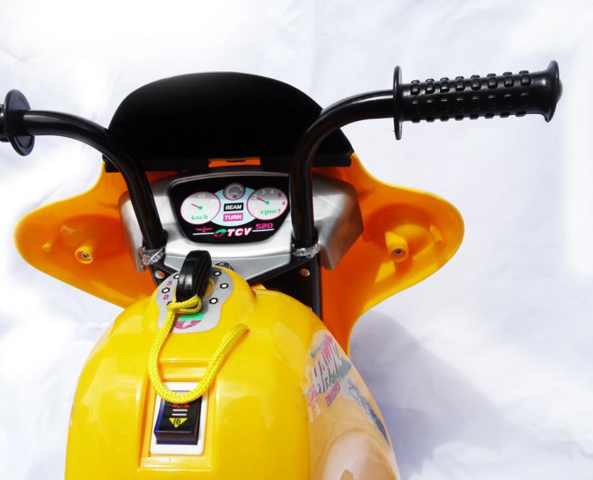 Купить в Москве электромотоцикл детский TCV Hawk TCV-520 от 5000 рублей