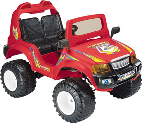 Электромобиль Off-Roader CT-885R, красный
