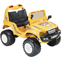 Электромобиль Off-Roader CT-885, жёлтый
