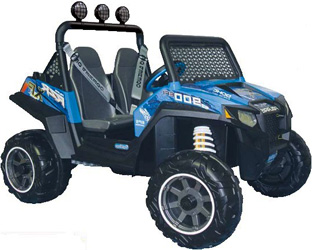 Электромобиль Peg-Perego Polaris RZR 900 Blue