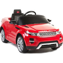 Land Rover Evoque, красный