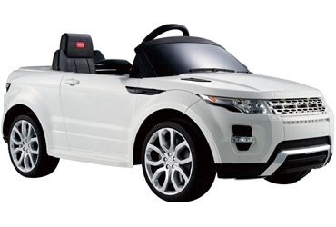 Электромобиль Land Rover Evoque, белый