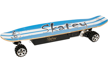 Электроскейт Skatey 600 blue-white